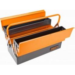Neo Tools Gereedschapkoffer Staal, 455x235x260