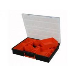 Tood CMTTO722 Assortimentskoffer 42x35x7 cm met 22 Uitneembare Bakjes